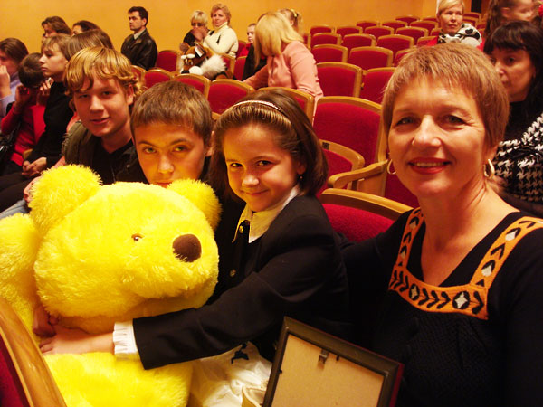 These Teddy bears were gifted to the small painters of Lugansk region by the supporter SPC Aeromeh Ltd