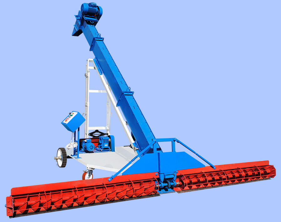 Grain loader CAD self-propelled